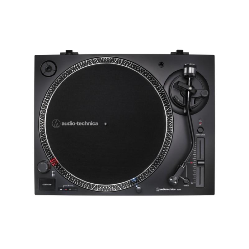 Audio Technica Direct-Drive Turntable (Analog & USB) - Silver- AT-LP120XUSB