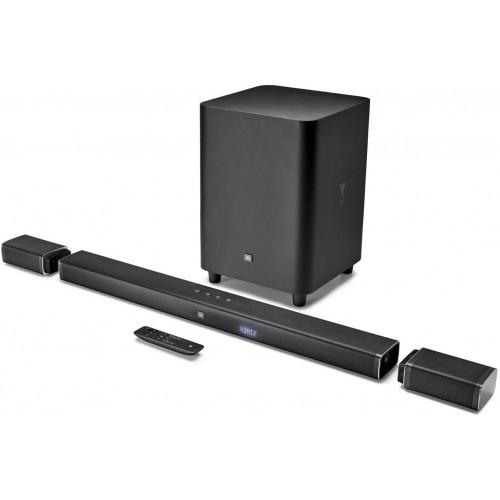 JBL BAR 5.1 soundbar with wireless subwoofer and rear speaker