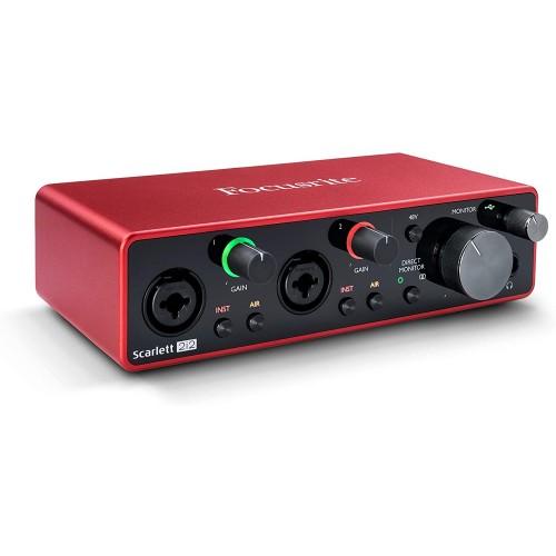 Focusrite Scarlett 2i2 3rd Gen Audio Int...