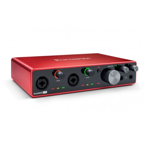 Focusrite Scarlett 8i6 3rd Gen Audio Int...
