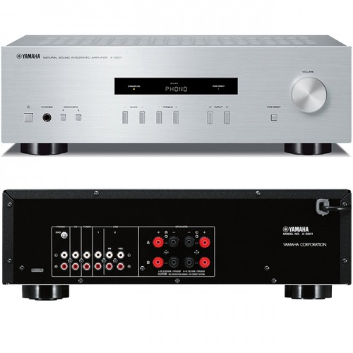 Yamaha A-S201 Integrated Amplifier Silve...