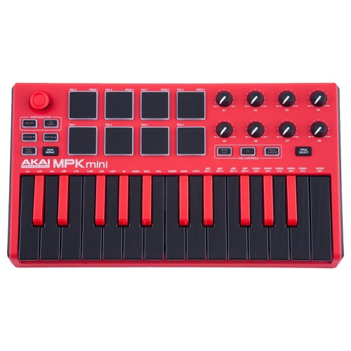Akai Professional MPKMINI2 RED - Limited...