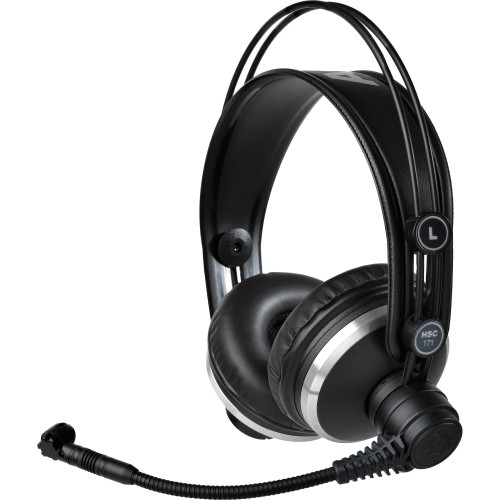 AKG HSC171 PROF. CLOSED-BACK HEADSETS DE...
