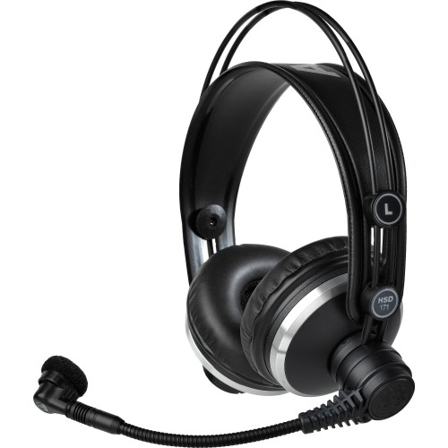 AKG HSD171 PROF. CLOSED-BACK HEADSETS DE...