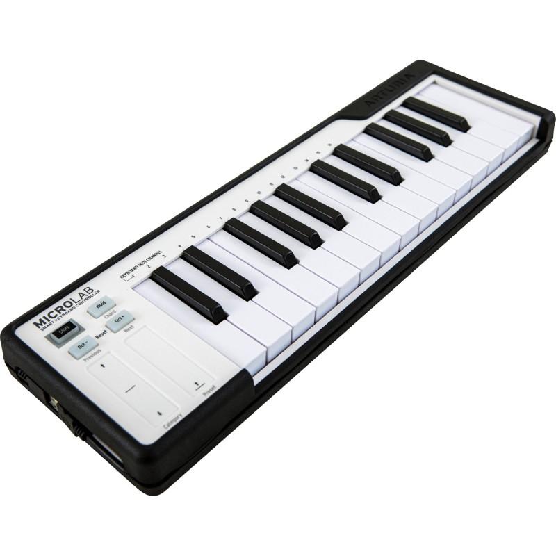 Arturia Micro Lab Black Essential Controller Keyboard