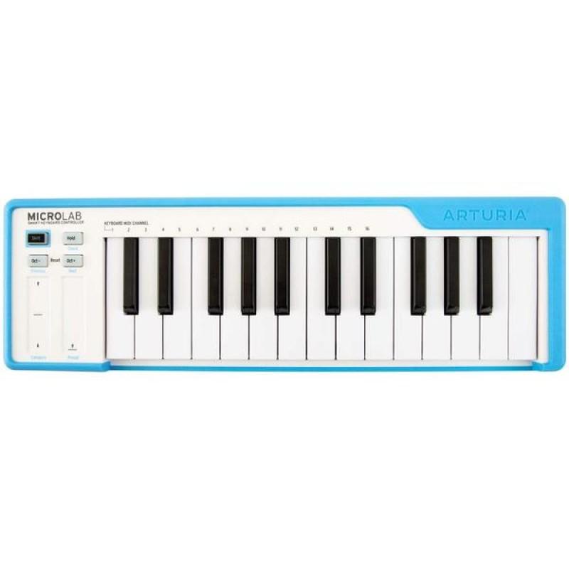 Arturia Micro Lab Blue Essential Controller Keyboard