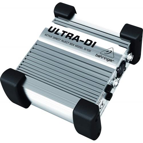 Behringer Ultra-DI DI100 1-channel Activ...