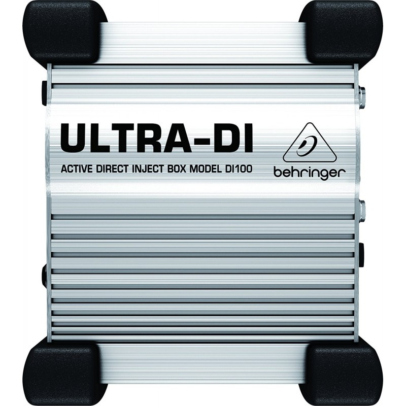Behringer Ultra-DI DI100 1-channel Active Microphone / Instrument Direct Box