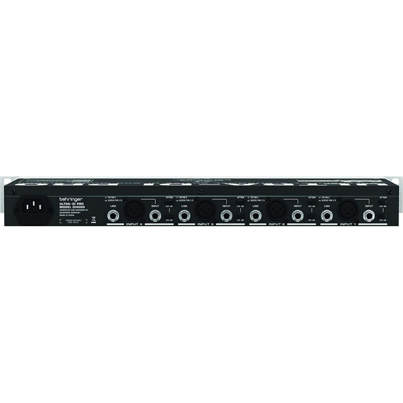 Behringer Ultra-DI Pro DI4000 4-channel Active Instrument Direct Box