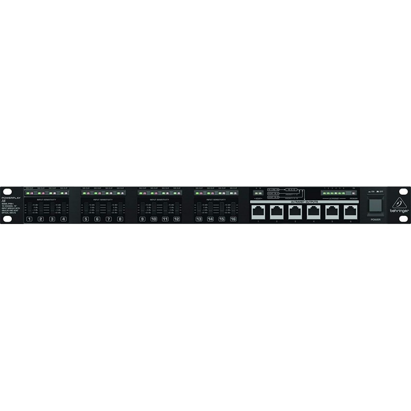 Behringer Powerplay P16-I 16-channel Input Module
