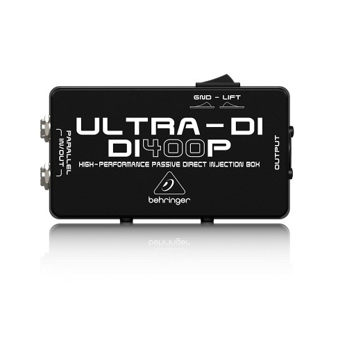 Behringer Ultra-DI DI400P 1-channel Passive Instrument Direct Box