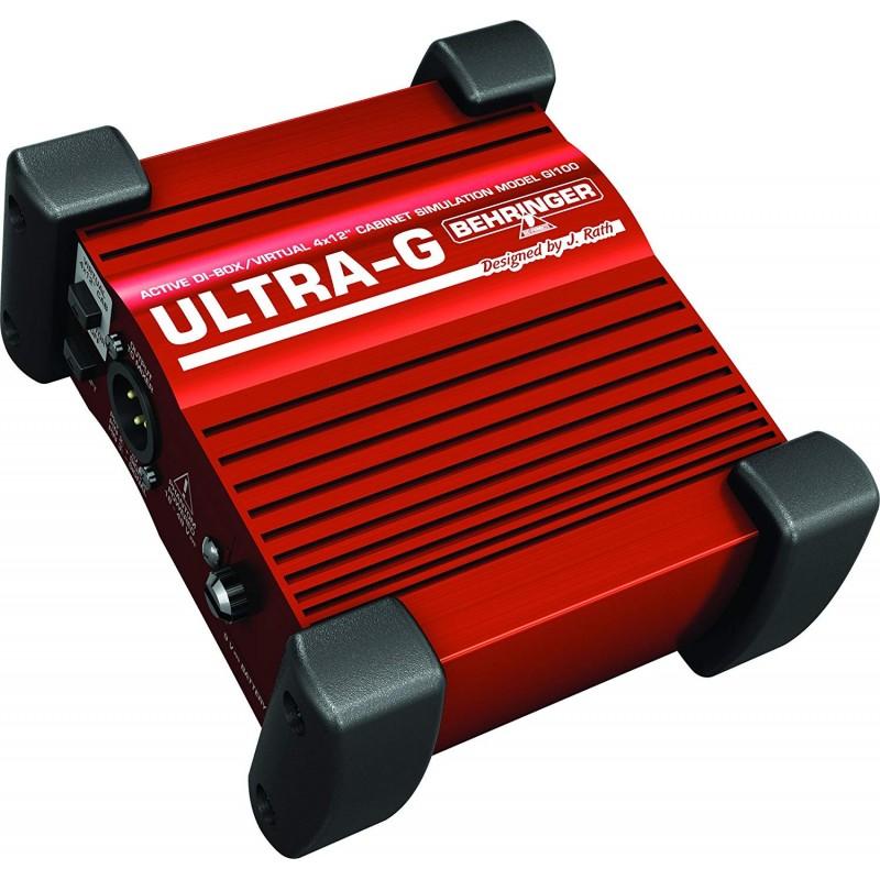 Behringer Ultra-G GI100 1-channel Active Guitar Direct Box
