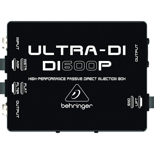 Behringer ULTRA-DI DI600P Passive Direct Box
