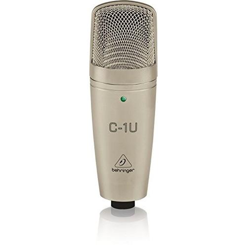 Behringer C-1U Studio Condenser USB Micr...