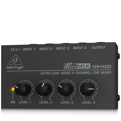 Behringer Micromix MX400 4-channel Mono Mixer