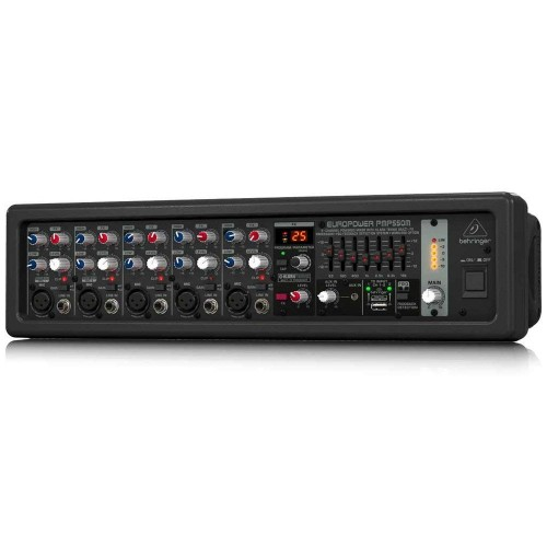 Behringer Europower PMP550M 5-channel 500W Powered Mixer
