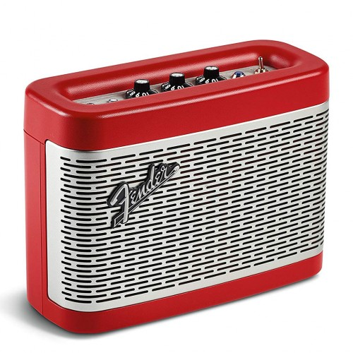 Fender - Newport Bluetooth Speaker Red, ...