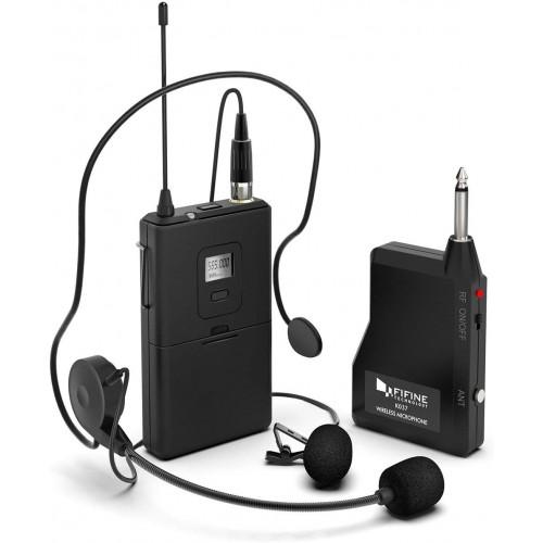 FIFINE K037B Wireless Microphone system ...