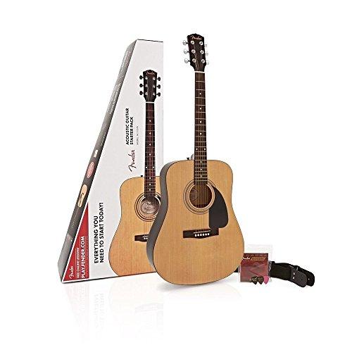 Fender FA115 Natural Pack acoustic Guita...