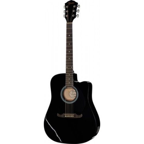 Fender FA125CE BLK accustic Guitar 0971113006