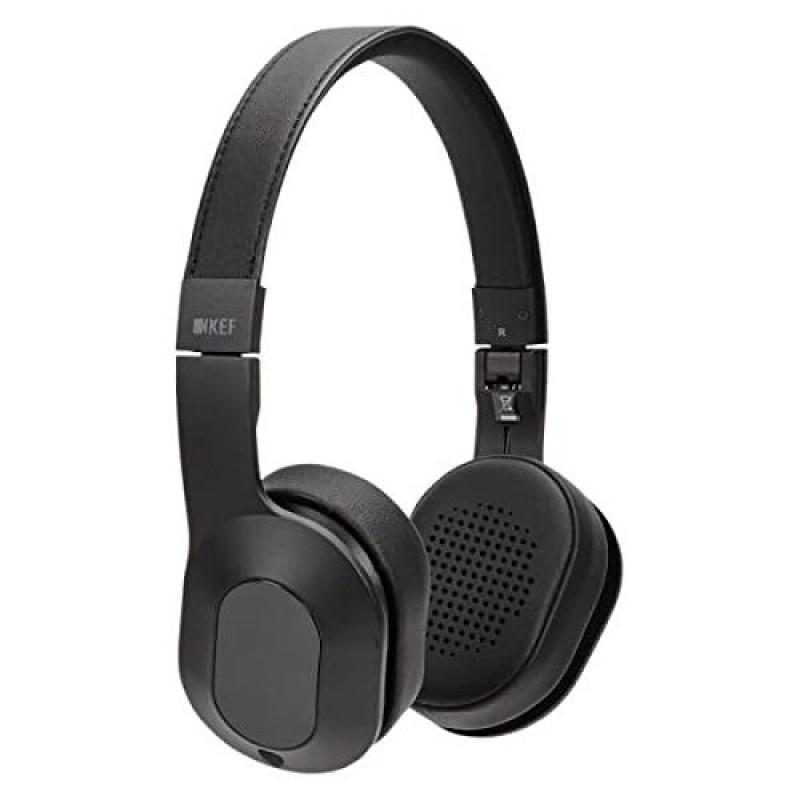 KEF Wired Headphones, Deep Black - M400