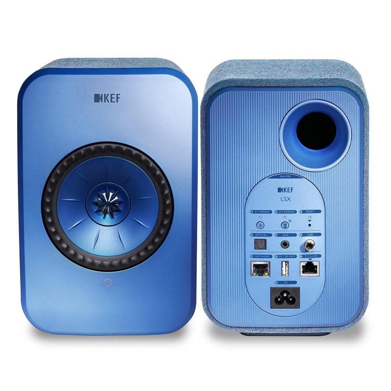 KEF LSX Wireless Speaker System - Blue