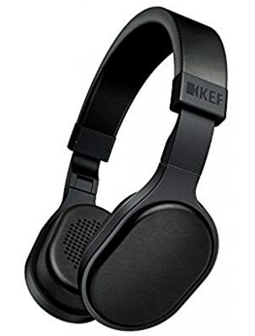 KEF M500 On Ear Headphone- Black