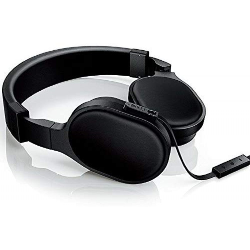 KEF M500 On Ear Headphone- Black