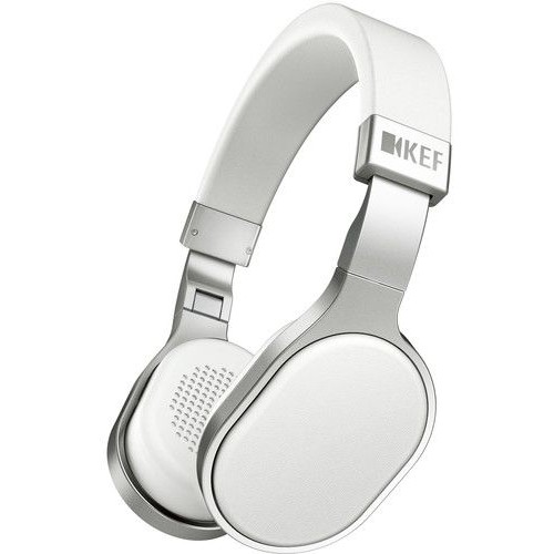 KEF HiFi Headphones, White - M500