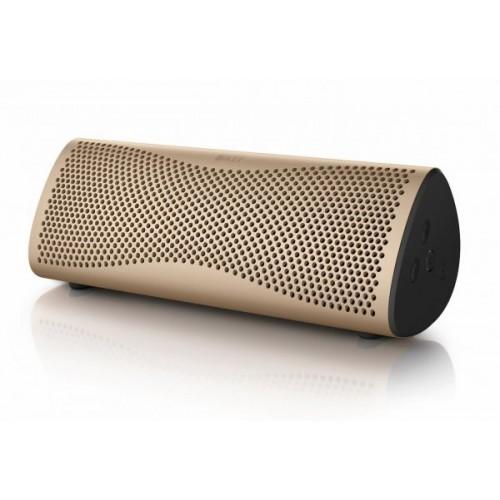 KEF MUO Wireless Bluetooth Speaker - Gol...