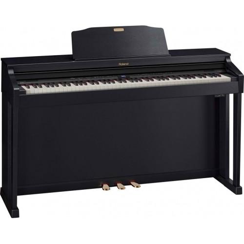 Roland HP504-CB + KSC-66-CB Digital Pian...