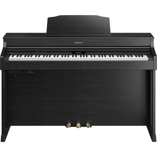 Roland HP603-CB + KSC-80-CB Digital Pian...