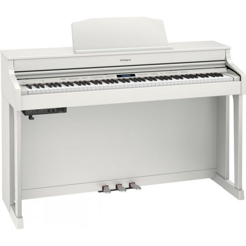 Roland HP603-WH-L+KSC-80-WH Digital Piano