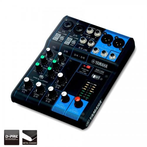 Yamaha MG06 Digital Mixing console