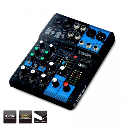 Yamaha MG06X Digital Mixing console