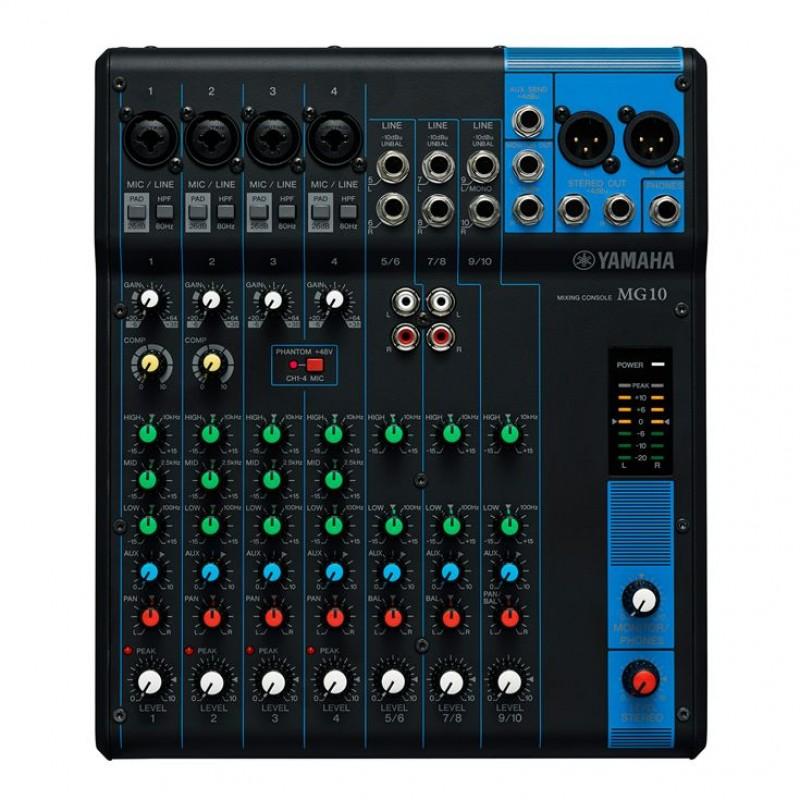 Yamaha MG10 Digital Mixing console