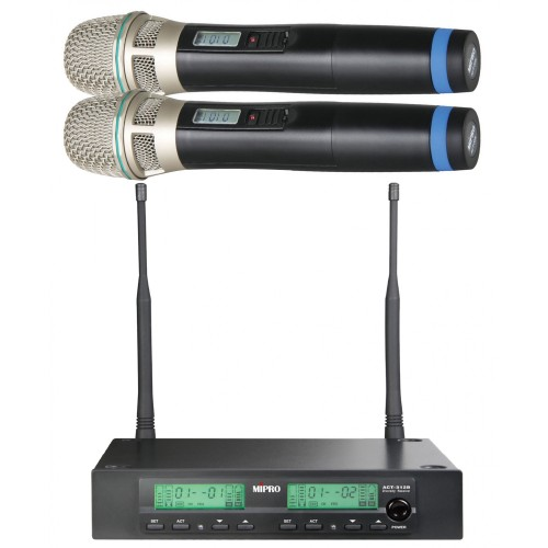 MIPRO 1/2-Rack Dual-Channel Diversity Re...