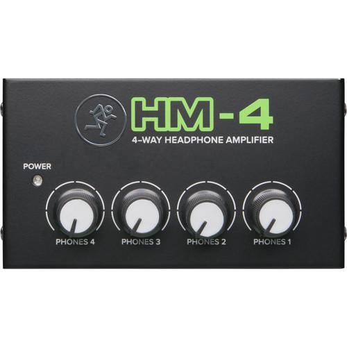 Mackie HM 4 4 Way Headphone Amplifier