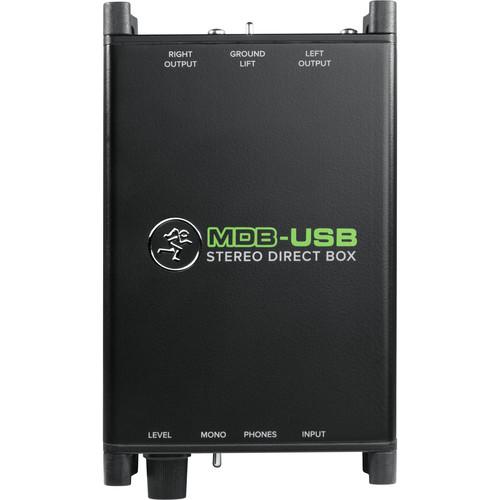Mackie MDB USB Stereo Direct Box