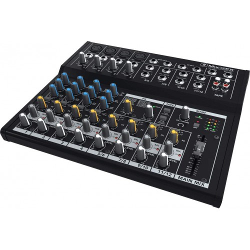 Mackie Mix12FX-UK 12 channel Mixer w FX ...