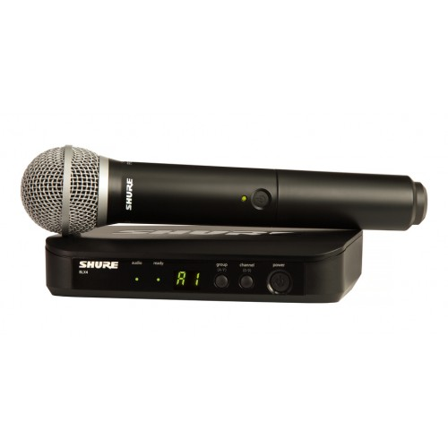 Shure BLX24/PG58 Handheld Wireless Syste...