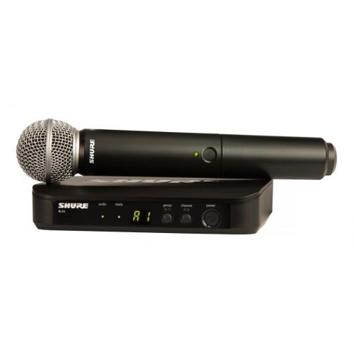 Shure BLX24/SM58 Handheld Wireless Syste...