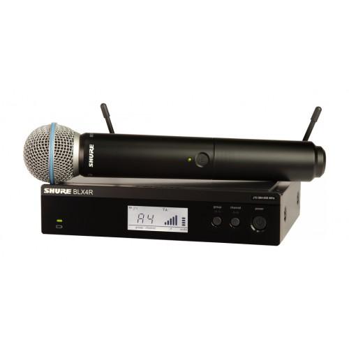 Shure BLX24R/B58 Handheld Wireless Syste...