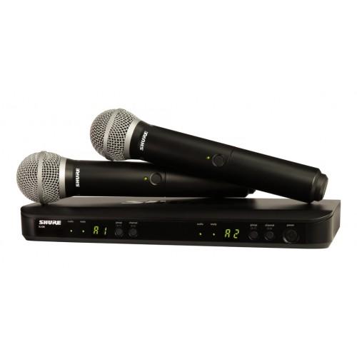 Shure BLX288/PG58 Dual Channel Handheld ...