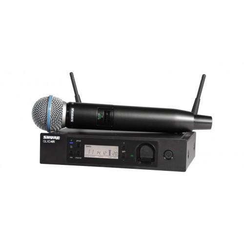 Shure GLXD24R/B58 Handheld Wireless Syst...