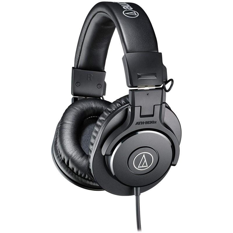 Audio Technica ATH-M30x Professional Studio Headphones