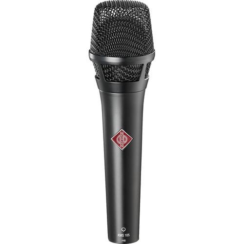Neumann KMS 105 BK Live Vocal Condenser ...
