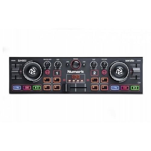 Numark DJ2GO2 Pocket DJ Controller with ...