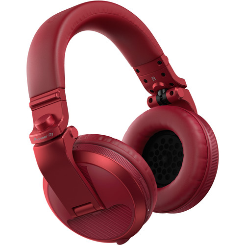 Pioneer HDJ-X5-BT-R Over-ear DJ Headphon...