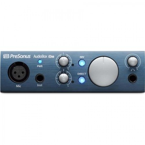 PreSonus AudioBox iOne USB / iPad Audio ...